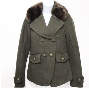 American Eagle outfitters women's wool coat XS
